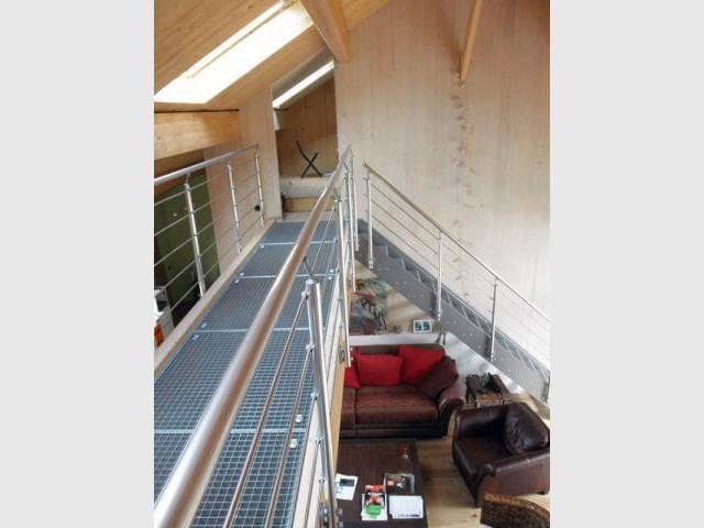 étage - Reportage maison bois