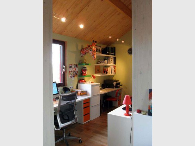 Bureau - Reportage maison bois