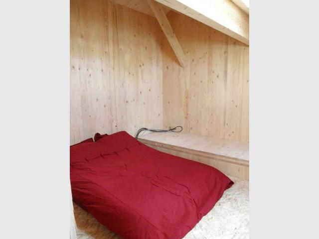 Chambre - Reportage maison bois