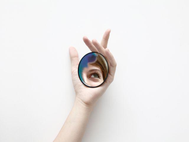 Petit miroir pour sac à main - Constance Guisset