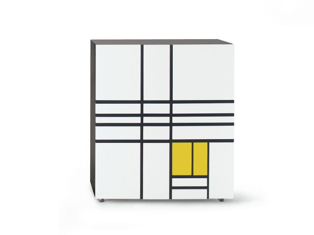Cappellini rend hommage au ma tre du design shiro kuramata for Minimalisme rangement