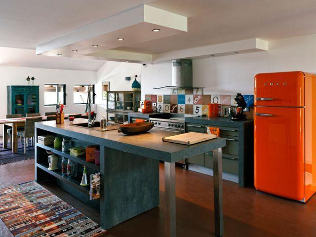 Style loft - Reportage grange architecteurs