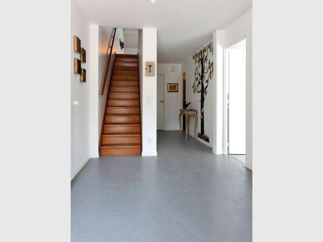 Accès étages - Reportage grange architecteurs