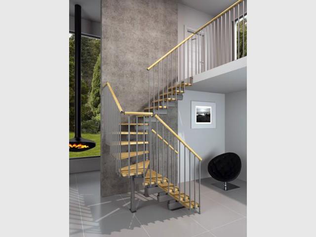 Escalier tournant bas - Rintal