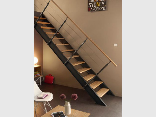 Escaliers tour d 39 horizon des configurations possibles - Escalier colimacon leroy merlin ...