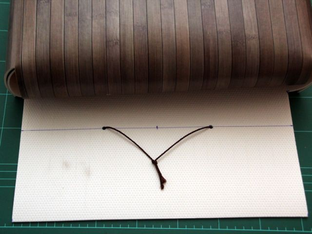 Fixer la cordeline - Les Ateliers de Mireia