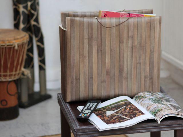 Garnir le range-revues - Les Ateliers de Mireia