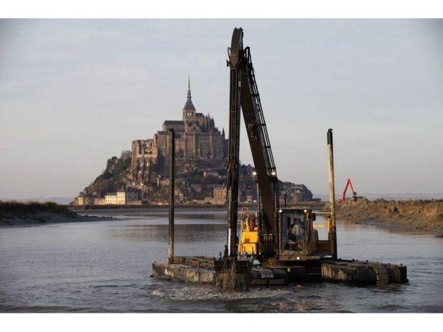 Mont-Saint-Michel trvaux