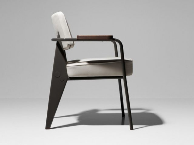 Fauteuil Direction 1951 - Prouvé RAW - Vitra