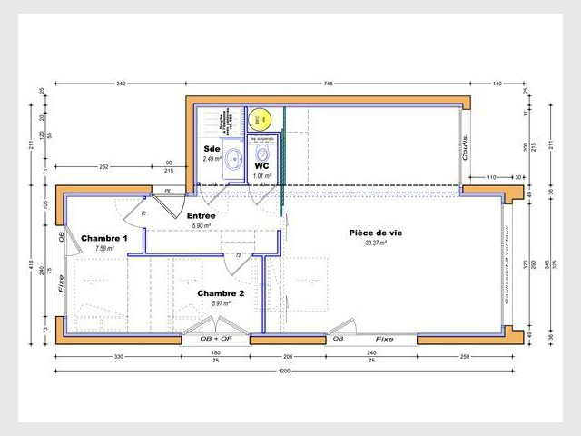 Plan masse - mini home