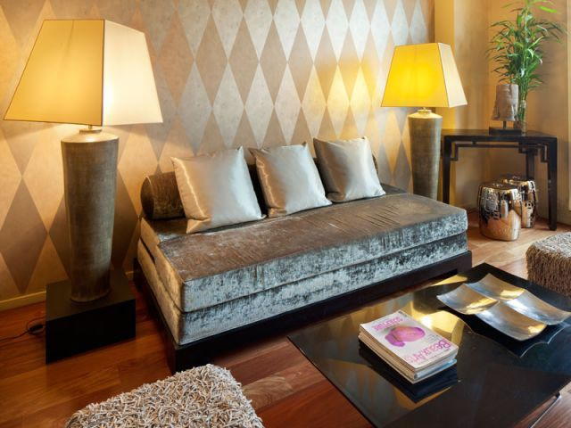 Coin salon/bureau - Reportage appartement Abesses