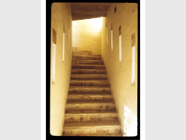 Escalier - Maisons en terre