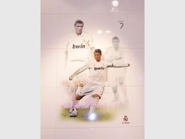 Céramique Real Madrid - Ronaldo - Carrelage Real Madrid