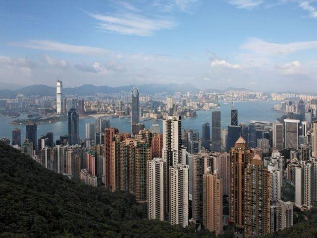 Front de mer Hong Kong