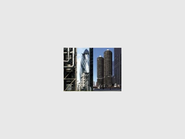 la tour et la ville