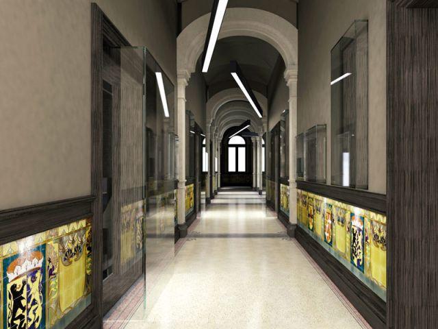 Hôtel Conservatorium - Couloirs - Hôtel Conservatorium Amsterdam