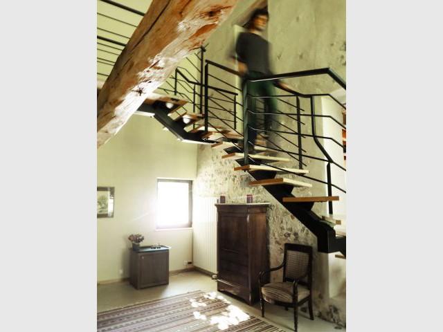 L'escalier après - Herbes folles