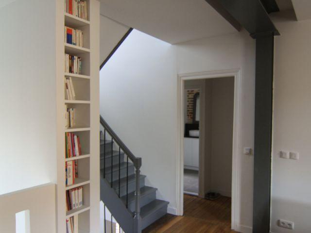 Le premier étage - Maison DPLG / Rennes / reportage