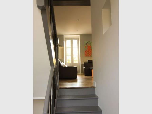 Une dominante gris-clair - Maison DPLG / Rennes / reportage