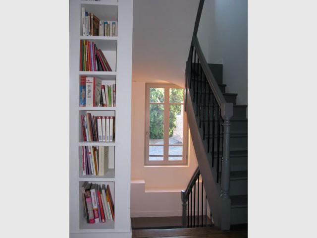 L'escalier - Maison DPLG / Rennes / reportage