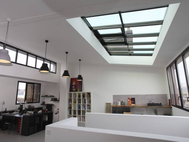 Atelier - Maison DPLG / Rennes / reportage