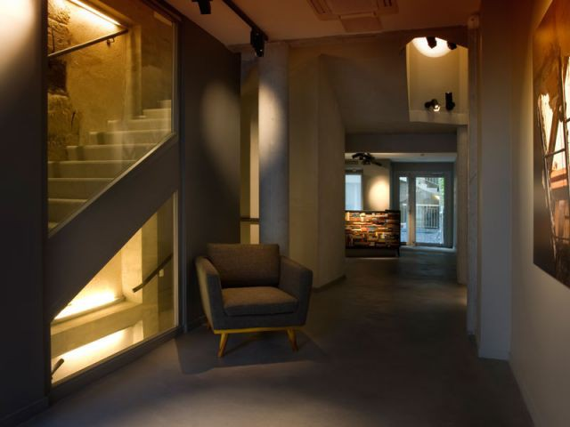 Hall d'entrée galerie - Hôtel Jules & Jim