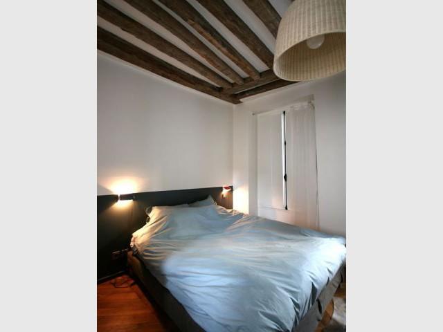 poutres apparentes exemples de valorisations r ussies. Black Bedroom Furniture Sets. Home Design Ideas