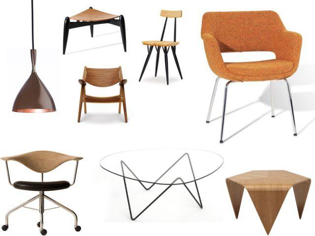 selection années 50 design iconik