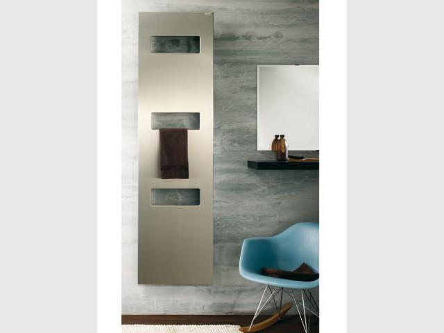 Chauffage en deux énergies pour la salle de bains - Chauffage salle de bains