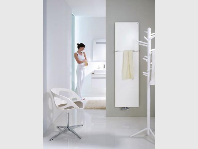 Le sèche-serviette, la star du chauffage de la salle de bains - Chauffage salle de bains