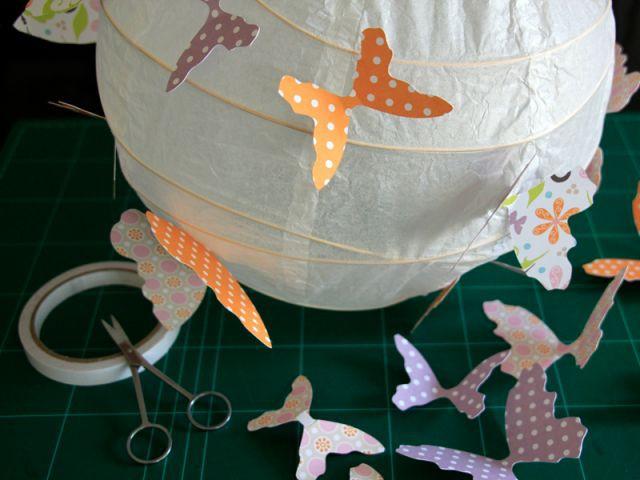 La fixation des papillons 1/2 - Les Ateliers de Mireia