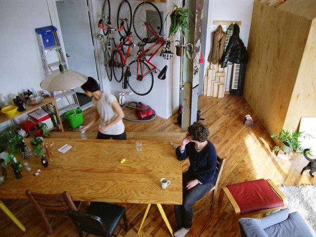 Espace de convivialité - Cabin loft