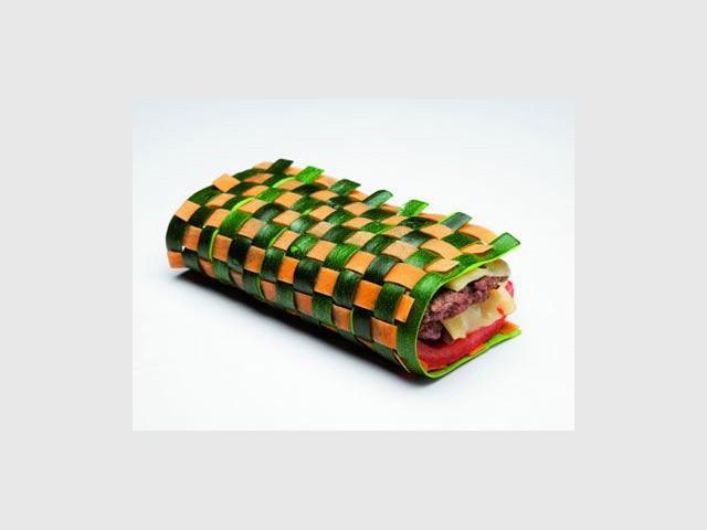 Alimentation Dans Le Futur Fast Food