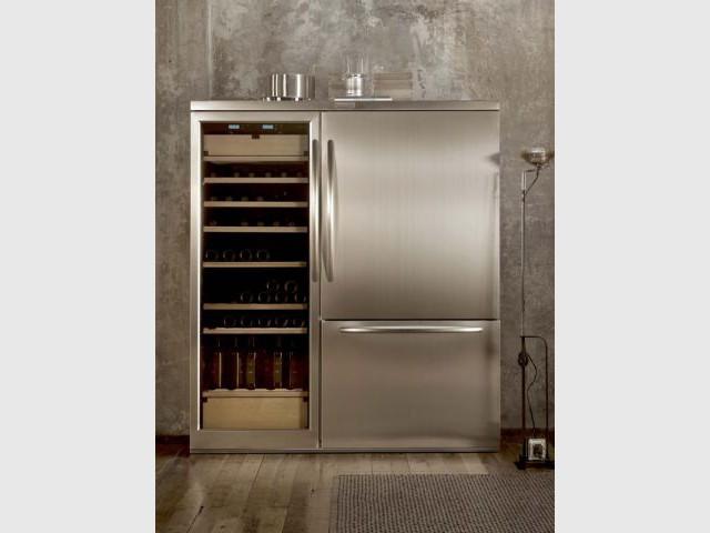 Réfrigérateur combiné avec cave à vin - Sélection réfrigérateurs