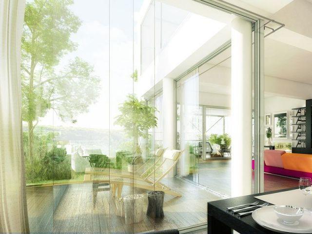 Appartement de jour - tour végétalisée Nevo