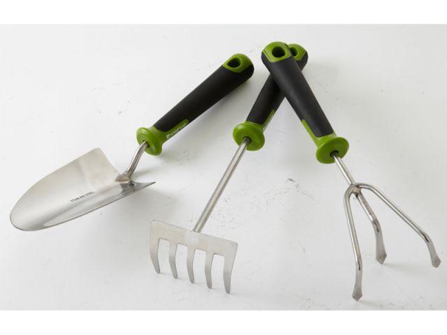 Jamais deux sans trois - Sélection outils jardin