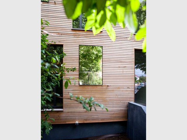 Des tableaux éphémères - Maison éco-durable-reportage