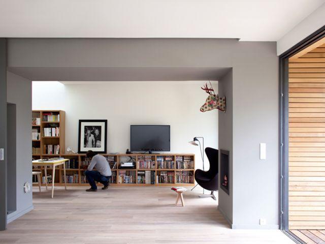 Privliégier l'espace - Maison éco-durable-reportage