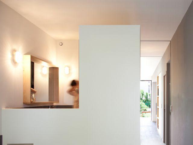 Des pièces communicantes - Maison éco-durable-reportage