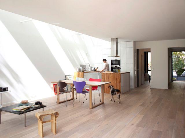 Des puits de lumière - Maison éco-durable-reportage
