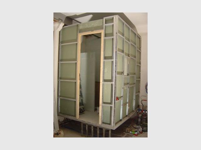 Sur-mesure - Salle de bains cube