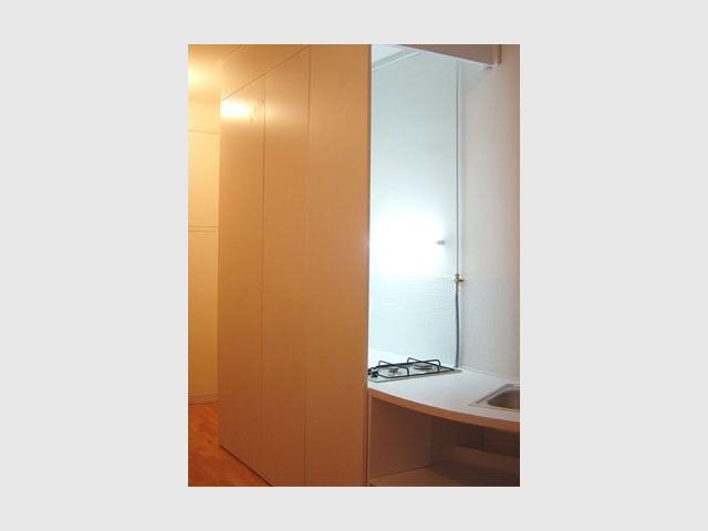Cuisine invisible - Salle de bains cube