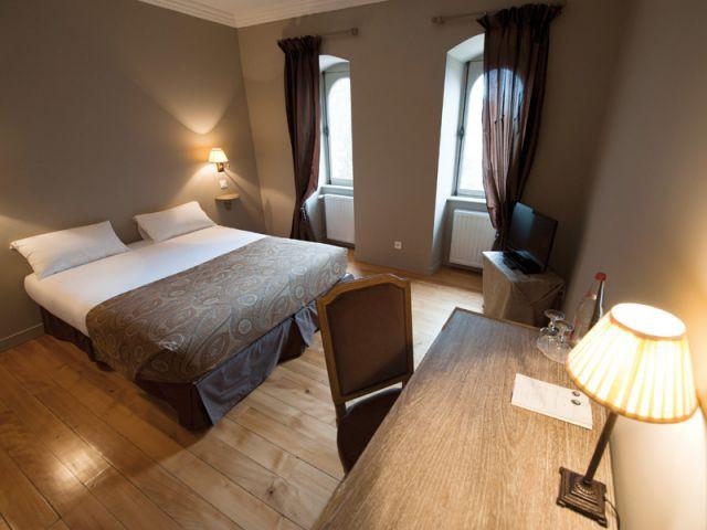 Chambre double de l'hôtel Le Sauvage - Hôtel Le Sauvage à Besançon