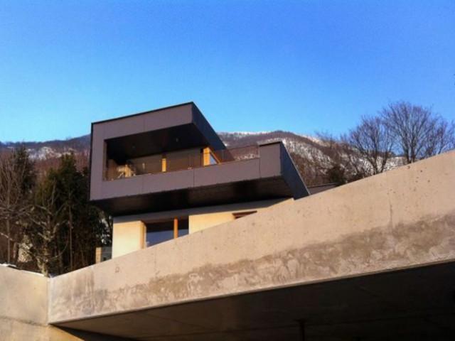 Catégorie Maison individuelle / architecture contemporaine - projet bois