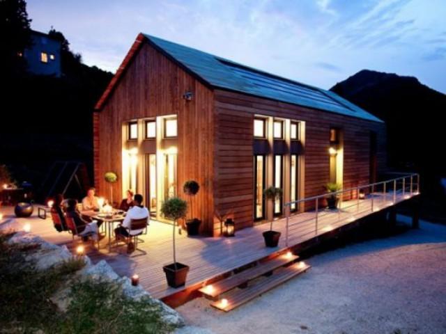 Catégorie Maison passive très basse consommation - projet bois