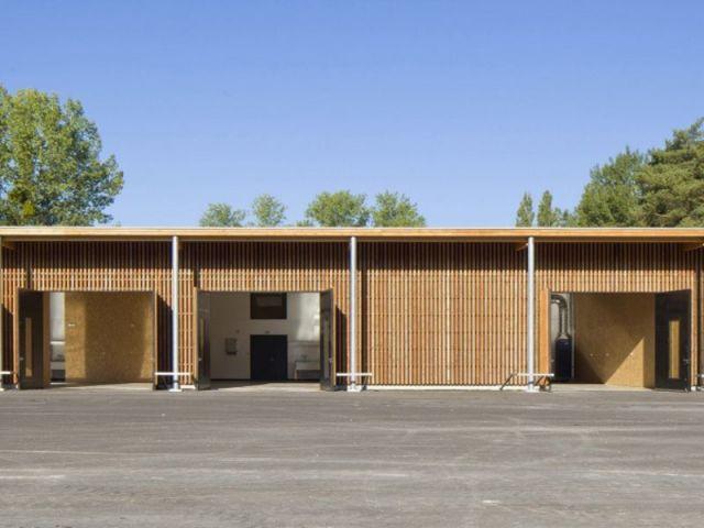 Catégorie Bâtiment collectif/équipement - projet bois