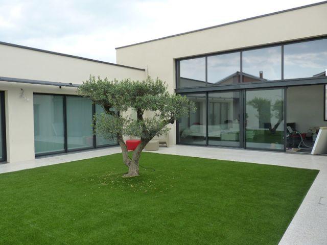 Une maison inspir e de la rome antique - Difference entre villa et maison ...