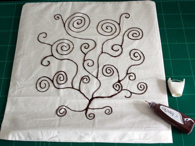 La peinture textile 2/2 - Les Ateliers de Mireia