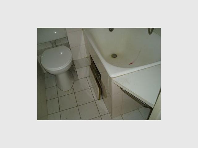 Salle de bains - Avant - Reportage pied à terre parisien