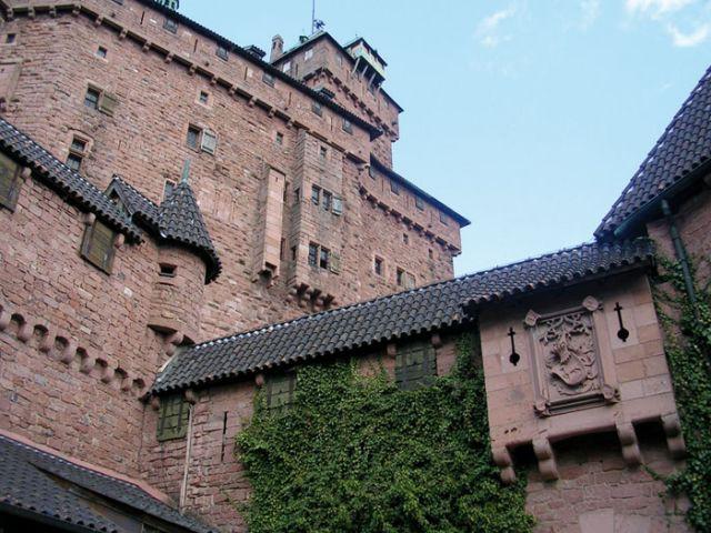 Entrée du château - Château du Haut Koenigsbourg